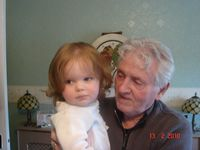 Uncle Harry and Niamh Isabella
